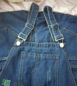 背带裤的扣子怎么装?背带裤扣子安装步骤图