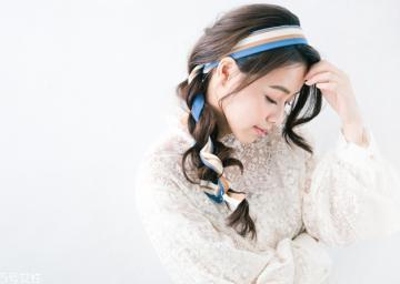 发带怎么戴 中长发怎么用发带编发
