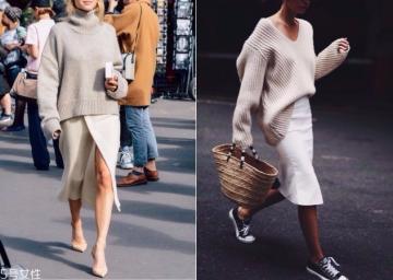 宽松针织衫怎么搭配 宽松针织衫搭配图片