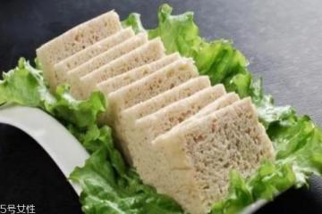 冻豆腐可以减肥吗 冻豆腐怎么吃才能减肥