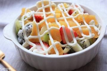 长期吃水果沙拉是否可以减肥 沙拉的功效