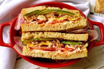 金枪鱼三明治的做法 金枪鱼三明治热量