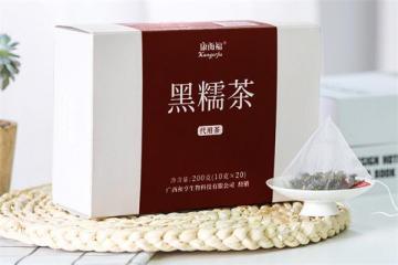 黑糯茶的制作方法 黑糯茶是用什么东西做成的