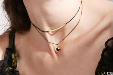 锁骨链和项链哪种好看 锁骨链和项链的区别